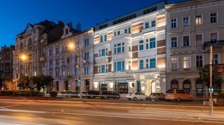 "Hotel Vision Budapest Exterior. Images powered by <a href=""http://www.leonardo.com"" target=""_blank"" rel=""noopener"">Leonardo</a>."