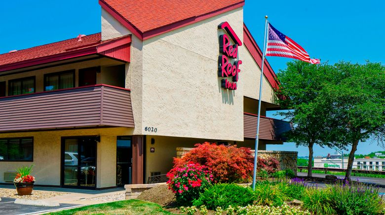 """Red Roof Inn Cleveland - Independence Exterior. Images powered by <a href=""""http://www.leonardo.com"""" target=""""_blank"""" rel=""""noopener"""">Leonardo</a>."""