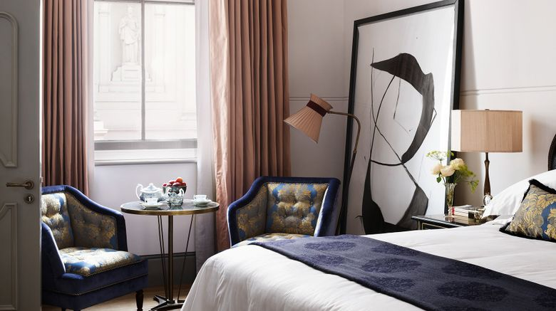 "NoMad London Room. Images powered by <a href=""http://www.leonardo.com"" target=""_blank"" rel=""noopener"">Leonardo</a>."