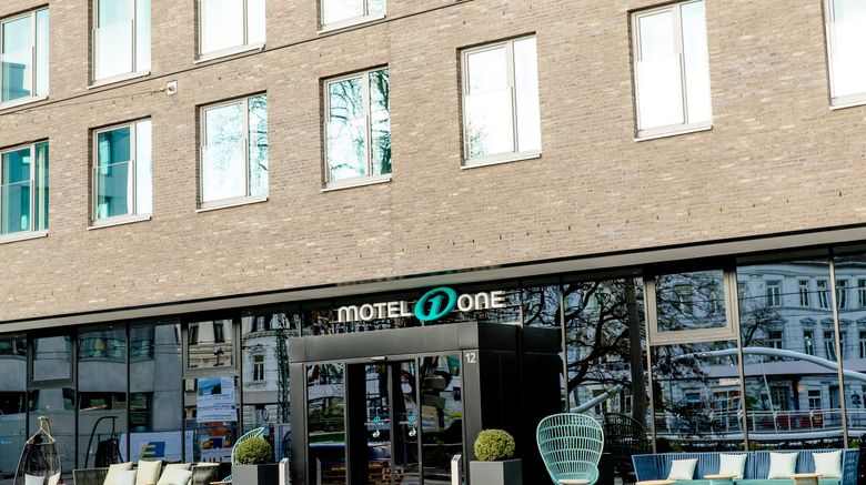 "Motel One Bonn-Hauptbahnhof Exterior. Images powered by <a href=""http://www.leonardo.com"" target=""_blank"" rel=""noopener"">Leonardo</a>."