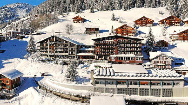 "Hotel Eiger Exterior. Images powered by <a href=""http://www.leonardo.com"" target=""_blank"" rel=""noopener"">Leonardo</a>."