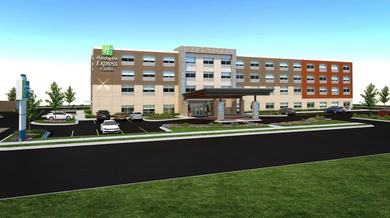 """Holiday Inn Express  and  Suites Gilbert Exterior. Images powered by <a href=""""http://www.leonardo.com"""" target=""""_blank"""" rel=""""noopener"""">Leonardo</a>."""
