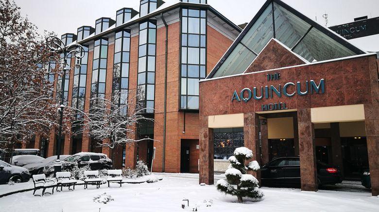 """The Aquincum Hotel Budapest Exterior. Images powered by <a href=""""http://www.leonardo.com"""" target=""""_blank"""" rel=""""noopener"""">Leonardo</a>."""