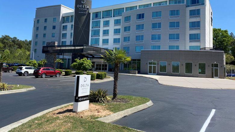 "Delta Hotels by Marriott Raleigh-Durham Exterior. Images powered by <a href=""http://www.leonardo.com"" target=""_blank"" rel=""noopener"">Leonardo</a>."