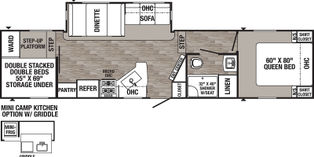 2021-FOREST RIVER-PUMA-28BHSS-Forest River Inc.-For Sale