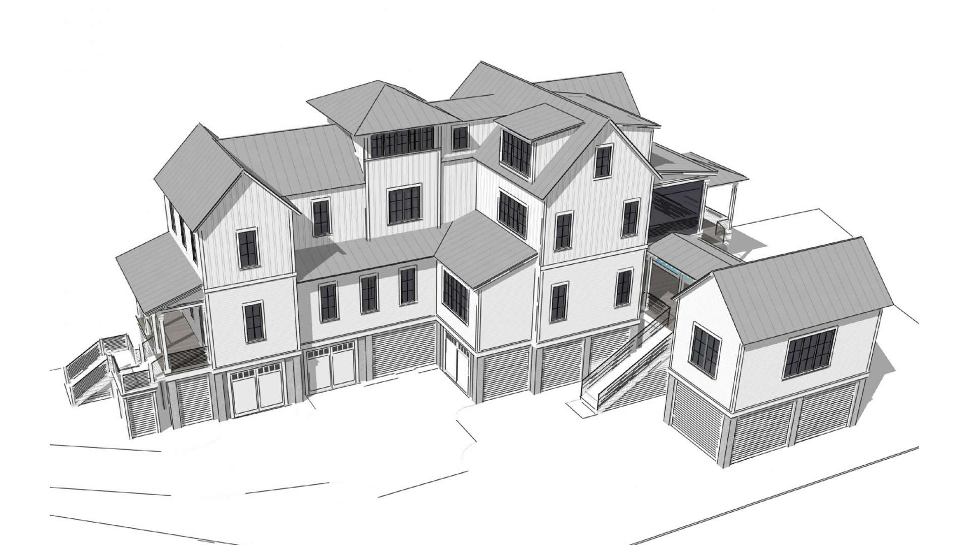 16 of 36. Home renderings are to act as aid in lot visualization. Only lot for sale.