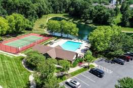 Subdivision Pool and Tennis Courts - New