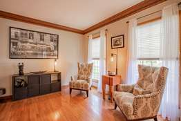 Large Windows and Gorgeous Moldings