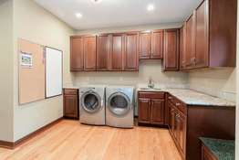 Huge Main Floor Laundry Room
