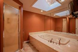 Soaking Tub and Large Walk-in Shower