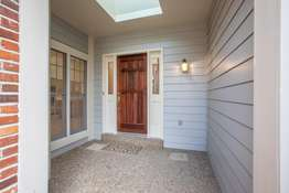 Covered Front Breezeway with Skylight