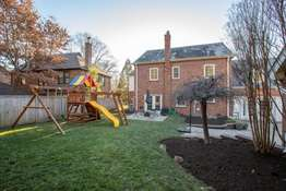 Great Activity Space with a Playset & Herb Garden