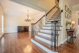 Wrought Iron Balusters on the Stairs