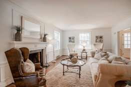 Bright and Airy Family Room