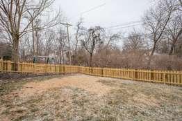 Fully Fenced-In Level Backyard