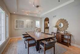 Tray Ceiling & Recessed Lighting