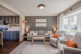 Open-Concept Living Space