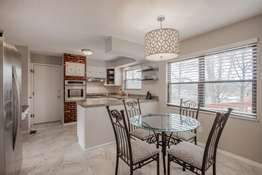 Kitchen with Adjoining Breakfast Room