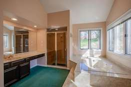 Soaking Tub and Separate Shower