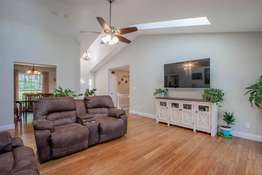 Offers Open Views of the Formal Dining Room