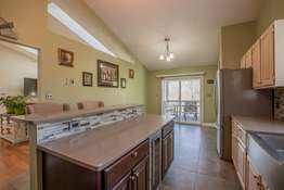 From the Kitchen you have convenient access to the expansive deck!