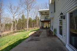 The Lower Level walks out to a beautiful backyard with plenty of space for entertaining!