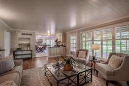 Family Room Opens to the Kitchen and Access to the Covered Patio