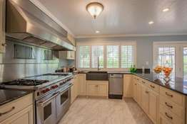Top-of-the-Line Stainless Steel Appliances