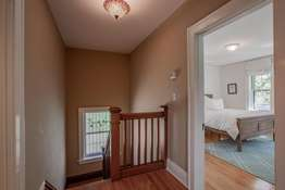 Upper Level with Hardwood Flooring