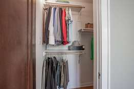 Master Suite Walk-in Closet