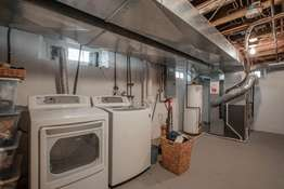 Ample Storage Space with a Laundry Area