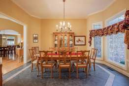 Crown Molding and Bay Window