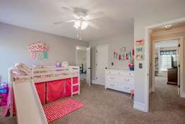 This bedroom finds access to the Bonus Room!