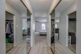 2 Expansive Walk-in Closets