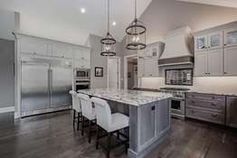 Top-Tier Granite Countertops, Commercial-Grade Stainless Steel Appliances