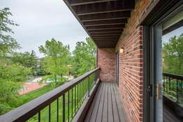 Expansive 22 x4 Private Balcony with Great Views