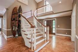 Beautifully Handcrafted Staircase