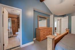 Vaulted Master Suite