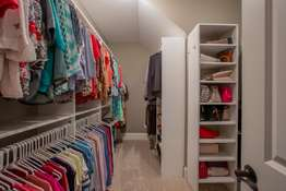 Custom Organized Walk-in Closet