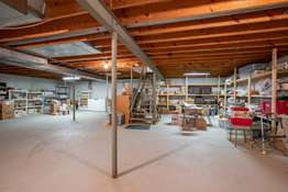 Ample Storage or Potential Living Space
