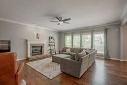 Family Room with a Gas Fireplace