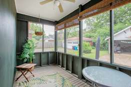 Screened-In Porch of First Floor Unit