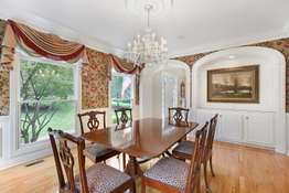 Formal Dining Room with Crown Molding