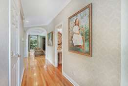 Archway and Hardwood Floors