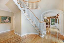 Handcrafted Curved Staircase