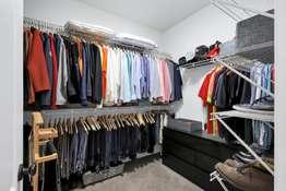 Dual Walk-in Closets