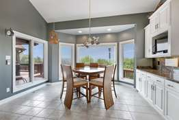 Breakfast Room with Large Bay Window
