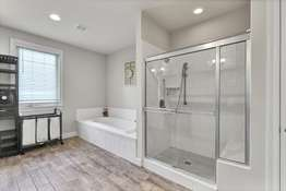 Soaking Tub, and Separate Shower