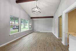 Spacious Vaulted Living Room