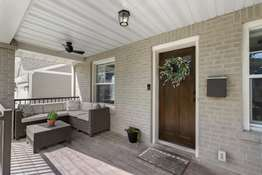 Craftsman-Style Front Porch